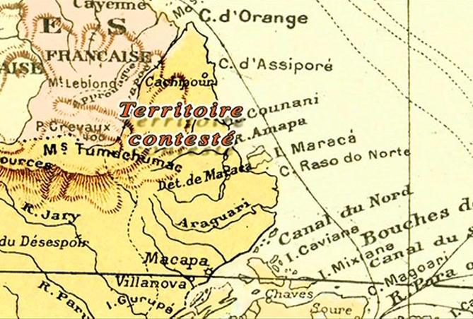 Le territoire contesté, une épopée diplomatique franco-brésilienne